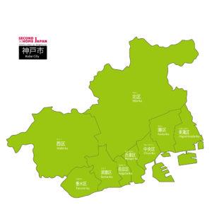 English-Kobe-City-Map