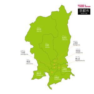 English-Kyoto-City-Map