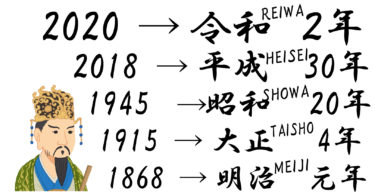 What's Reiwa? Conversion to Japanese calendar 和暦 [WAREKI] (われき)