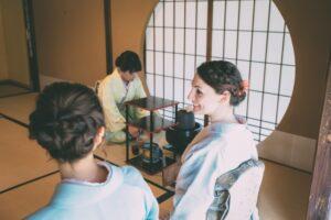Sado on tatami room