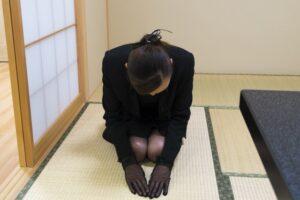 Seiza on tatami