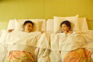 sleep on tatami