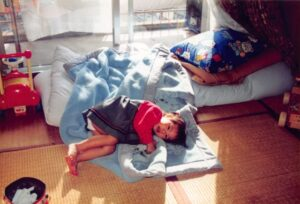 relaxing on tatami, take a nap on tatami